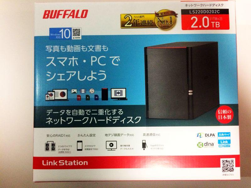 BUFFALOリンクステーションLS220D0202C