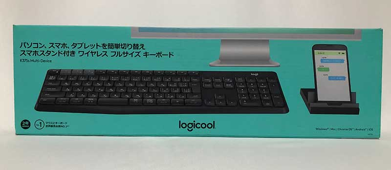 Logicool K375s