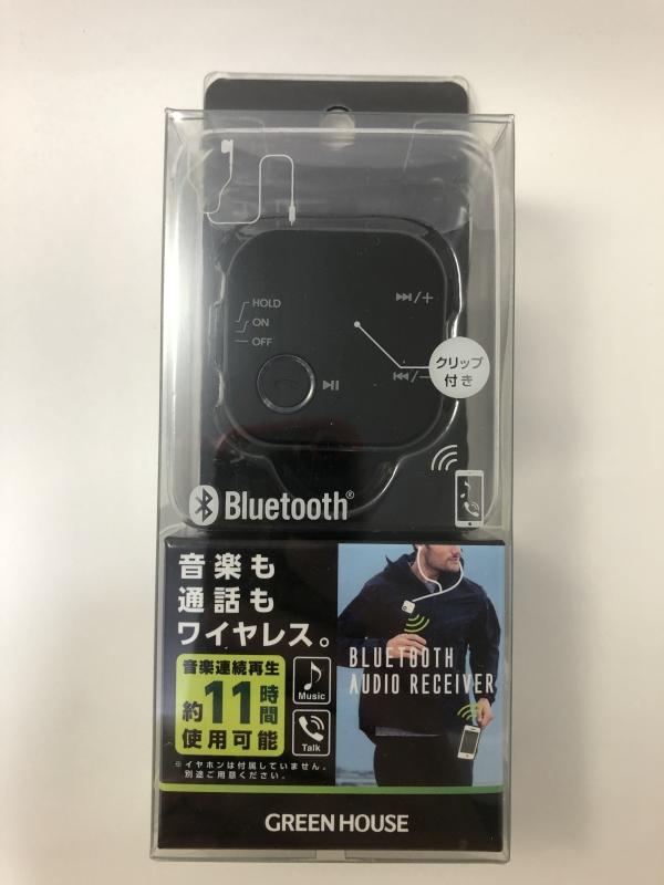 BluetoothオーディオレシーバーGH-BHRC-BK