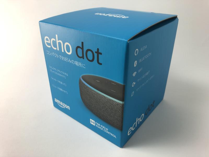 Amazon Echo Dot(第3世代)