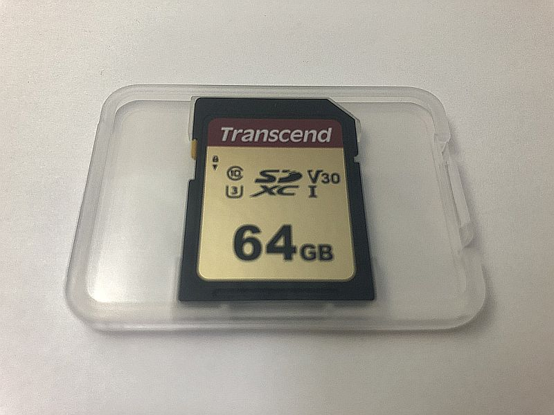 Transcend SDXCカード 64GB TS64GSDC500S-E(Amazon限定)