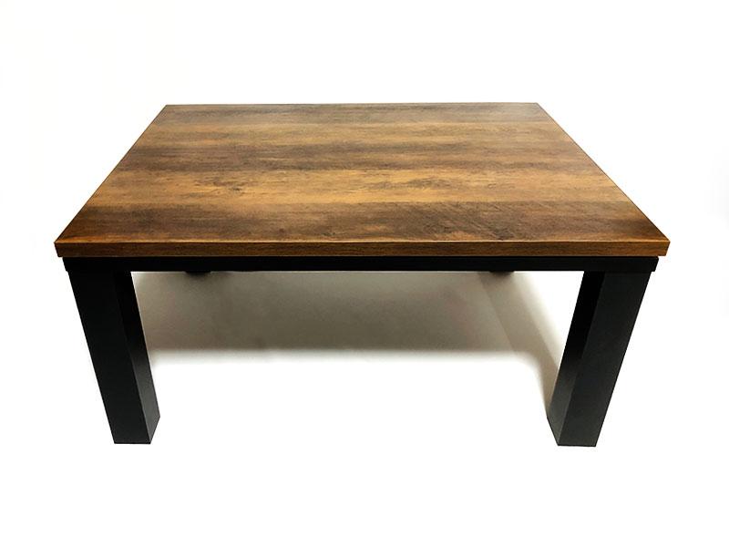ヴィンテージ こたつテーブル 80x60cm【レビュー】一人暮らしの方や自室用に最適!